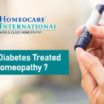 How is diabetes treated in homeopathy?